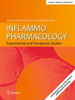 Inflamopharmakology